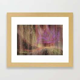 Starting To Mess With My Head. Memories Flooding Back. Framed Art Print