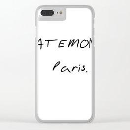 TATEMONO PARIS Clear iPhone Case