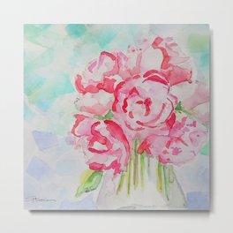 Fluers Fraiches Flower  Metal Print