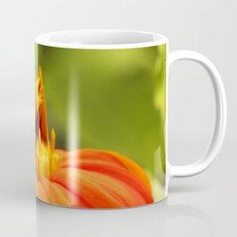 Mexican Sunflower Bumblebee Coffee Mug