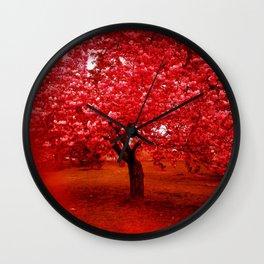 Cherry Blossom tree II Wall Clock