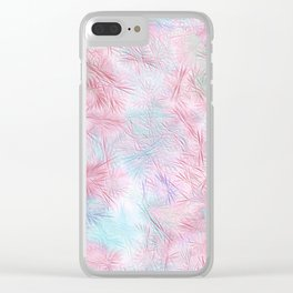 Tangled Pink Fireworks Clear iPhone Case