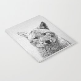 Coyote - Black & White Notebook