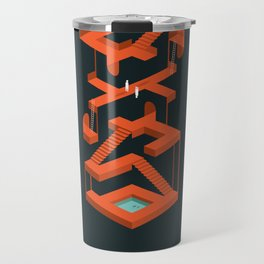 Monument Maze Travel Mug