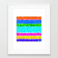 miami Framed Art Prints featuring Miami by Saundra Myles