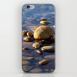 Pebble Stones by the Sea 7738 iPhone Skin
