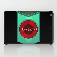 transistor iPad Cases featuring Transistor by Spiritius