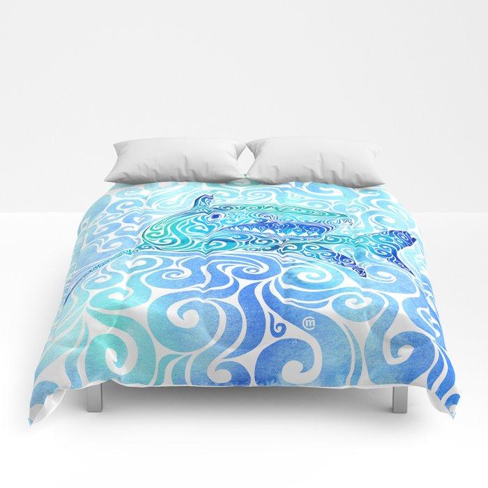 Swirly Shark Comforters