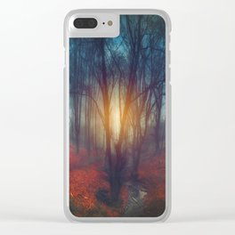 cRies and whiSpers Clear iPhone Case