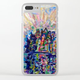 Vancouver Dream Clear iPhone Case