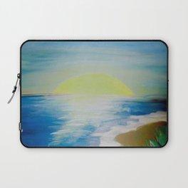 Seashore Sunset Laptop Sleeve