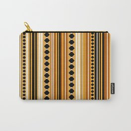 Verticals yellow Carry-All Pouch