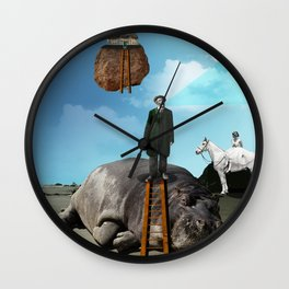 Hypomania Wall Clock