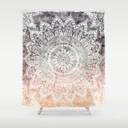 BOHEMIAN HYGGE MANDALA Shower Curtain