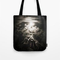 warrior Tote Bags featuring Warrior by Armine Nersisian
