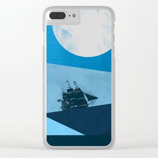 Solo Ocean Trip Clear iPhone Case