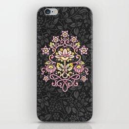 Damask Rose iPhone Skin