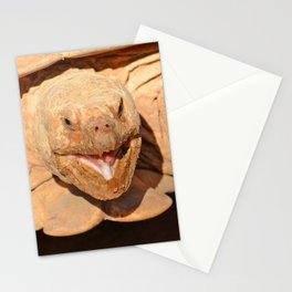 Geochelone sulcata Stationery Cards