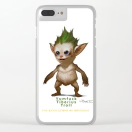 YT Troll - Revelations of Oriceran (C) Clear iPhone Case