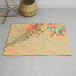 Coral Reef Abstract Rug