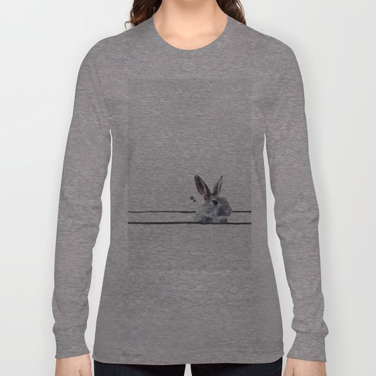 HORIZONTAL RABBITHOLE Long Sleeve T-shirt
