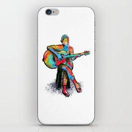 The guitarist iPhone Skin