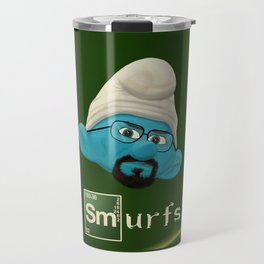 smurfing bad Travel Mug