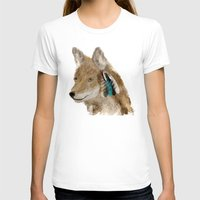 coyote T-shirts featuring Coyote by bri.buckley
