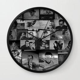 The Protectors of Hollywood Boulevard Wall Clock
