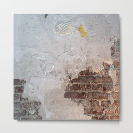 Damaged wall Metal Print