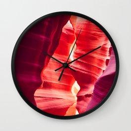 Antelope Canyon, Arizona Wall Clock