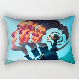 Women Thougths Rectangular Pillow