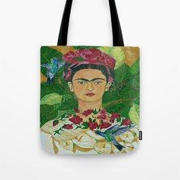 Frida In Heaven Tote Bag
