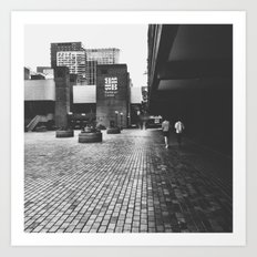 Barbican Centre Art Print