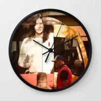 chocolate Wall Clocks featuring Chocolate by Sébastien BOUVIER