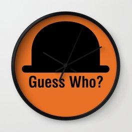 Guess Who? Wall Clock