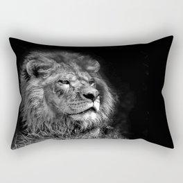 Proud Young Lion Rectangular Pillow