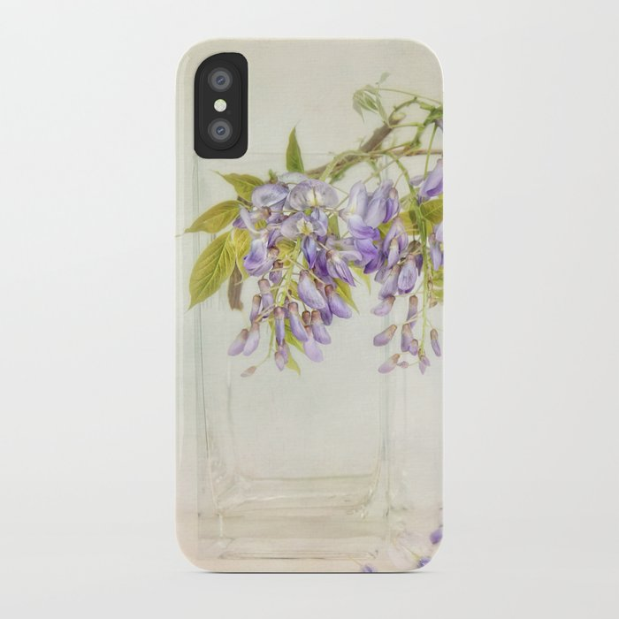 Still life with wisteria iPhone Case