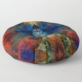 ABSTRACT COLORS 5 Floor Pillow