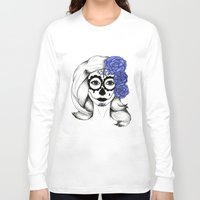 gothic Long Sleeve T-shirts featuring Gothic by bexchalloner