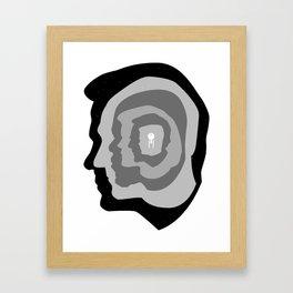 Star Trek Head Silhouettes Framed Art Print