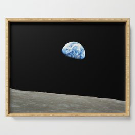 Earthrise High Resolution Serving Tray
