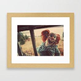 Broken Childhood Framed Art Print