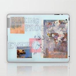 making progress everyday Laptop & iPad Skin