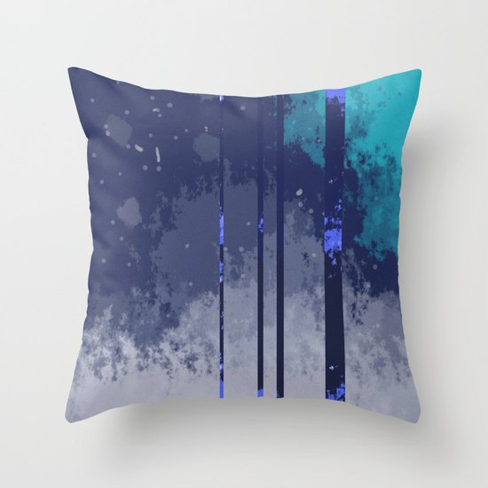 Winterspace Throw Pillow