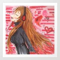 SugaryND Profile Art Print