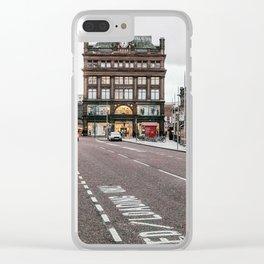 Streetview in Belfast Ireland Clear iPhone Case