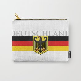 Deutschland ...German Flag and Eagle Carry-All Pouch