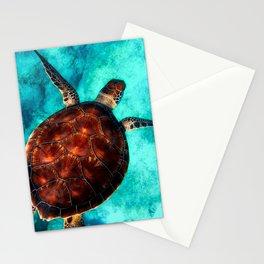 Marine sea fish animal Stationery Cards