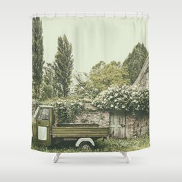 Italian country life Shower Curtain